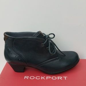 Leather Ankle Bootie New